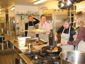 konference deltagere på kokkeskole